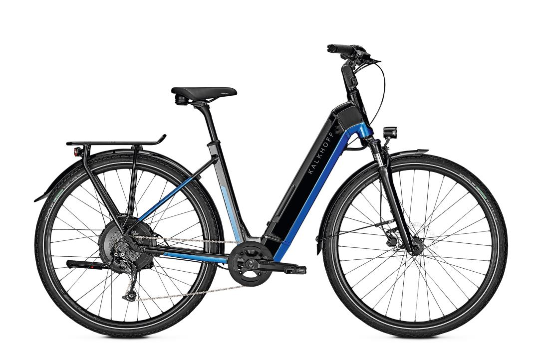 Kalkhoff ENDEAVOUR 5.N MOVE - 28 Wave 497 Wh -  magicblack/pacificblue glossy 2019