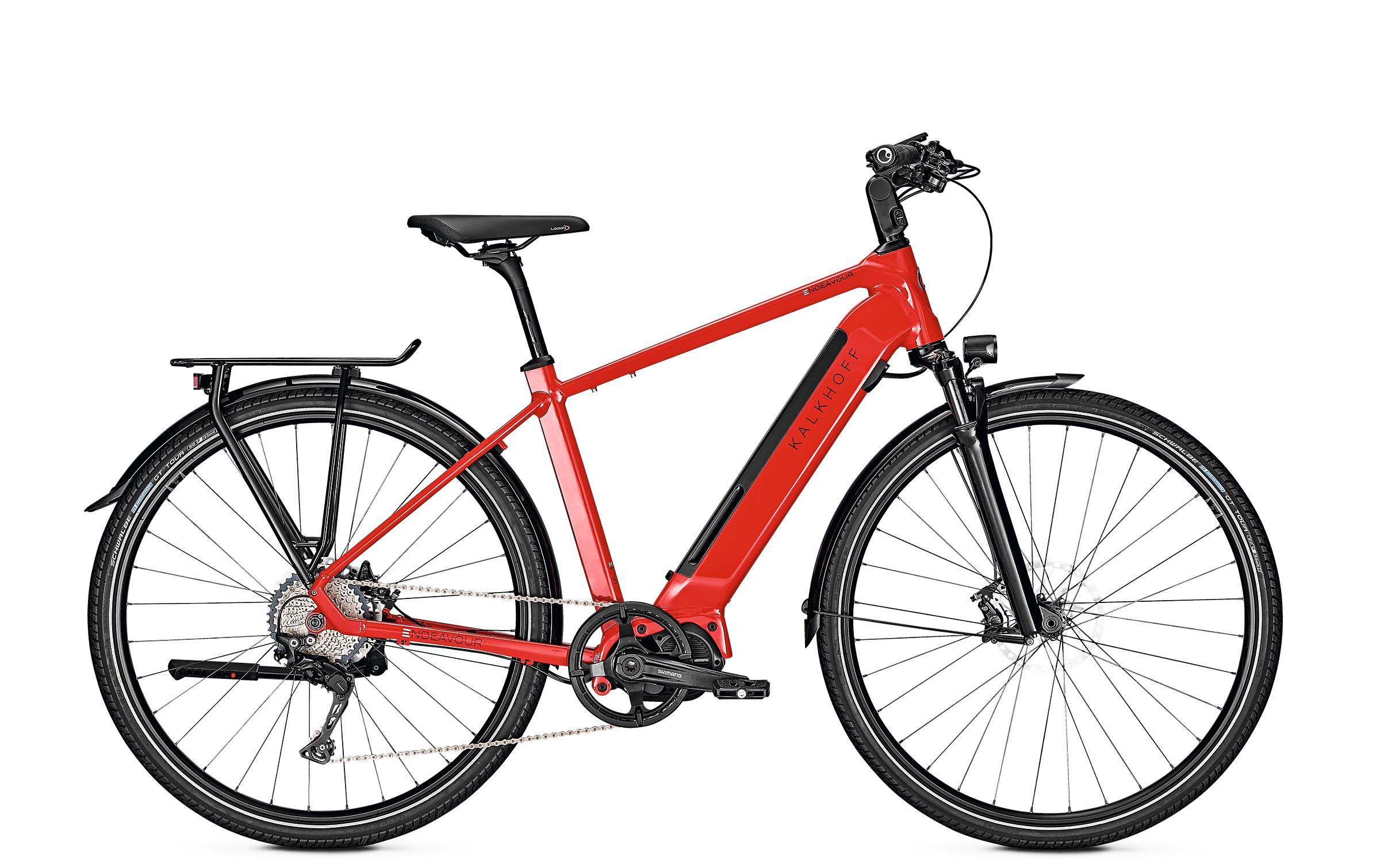 Kalkhoff ENDEAVOUR 5.S EXCITE - 28 Diamant 540 Wh -  firered glossy 2019