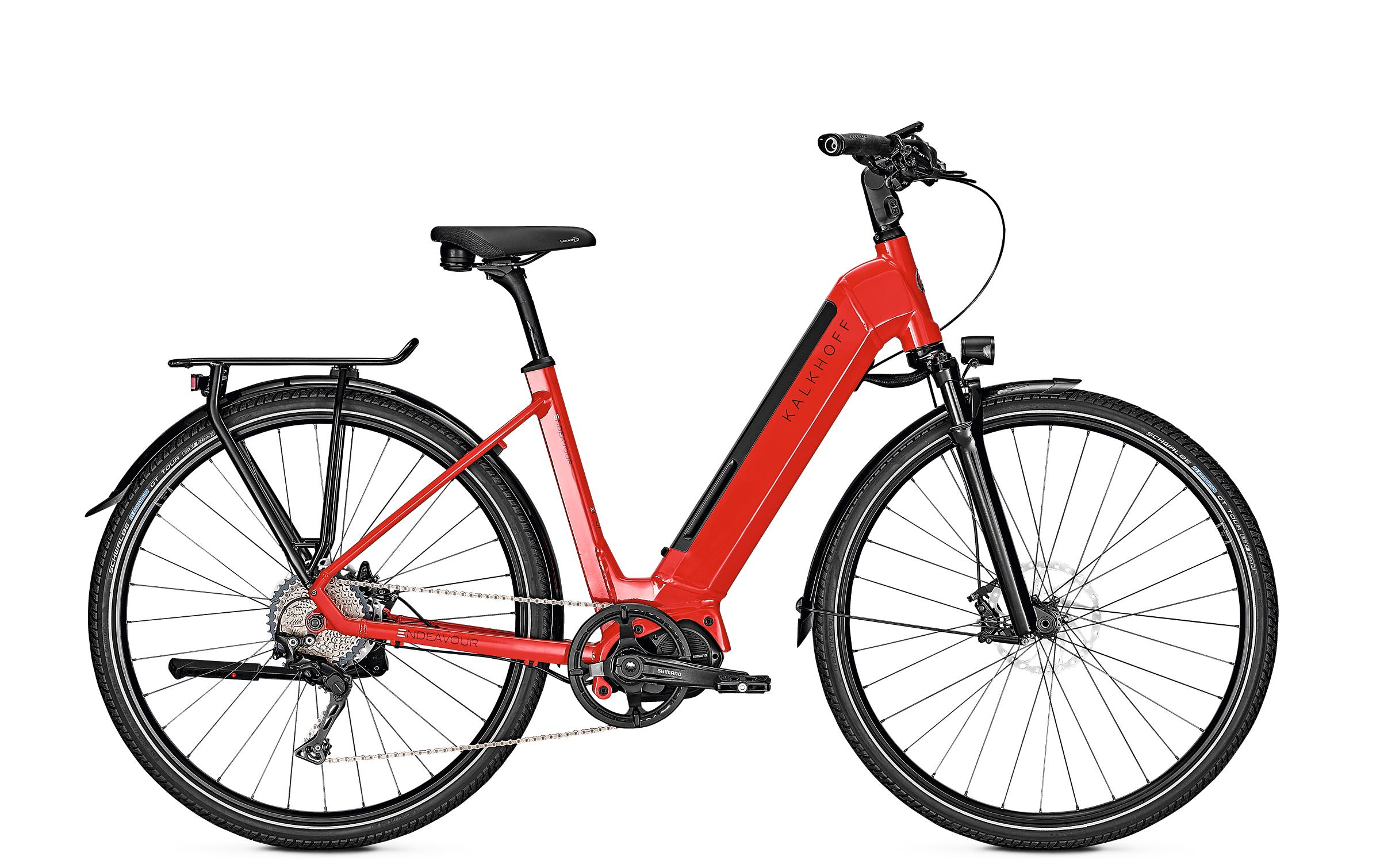 Kalkhoff ENDEAVOUR 5.S EXCITE firered glossy 2019 - 28 Wave 540 Wh -  48