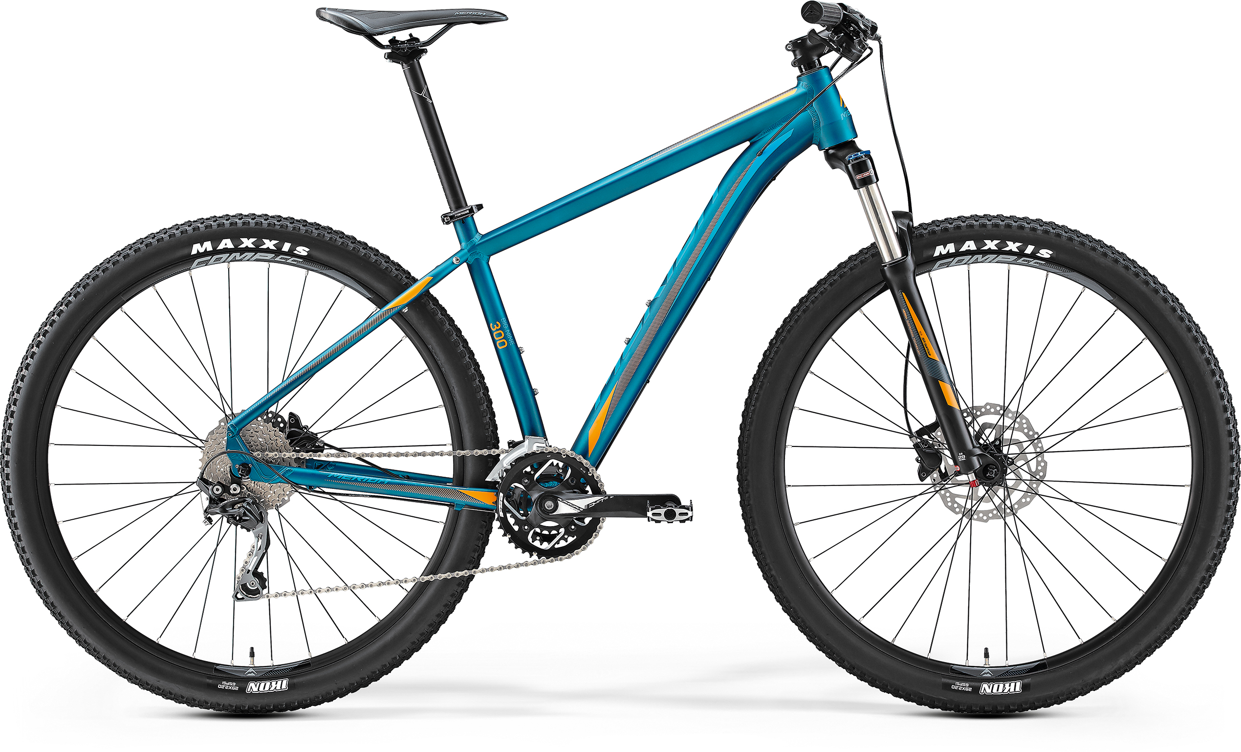 Merida BIG.NINE 300 - Hardtail 29 Zoll -  MATT-PETROL 2017