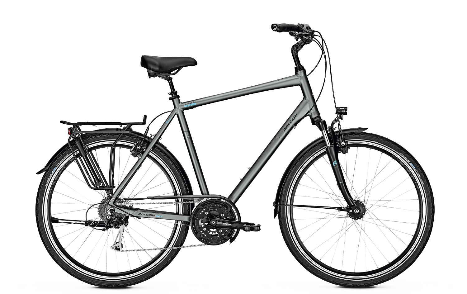 Raleigh OAKLAND XXL - 28 Diamant FL -  irongrey matt 2018