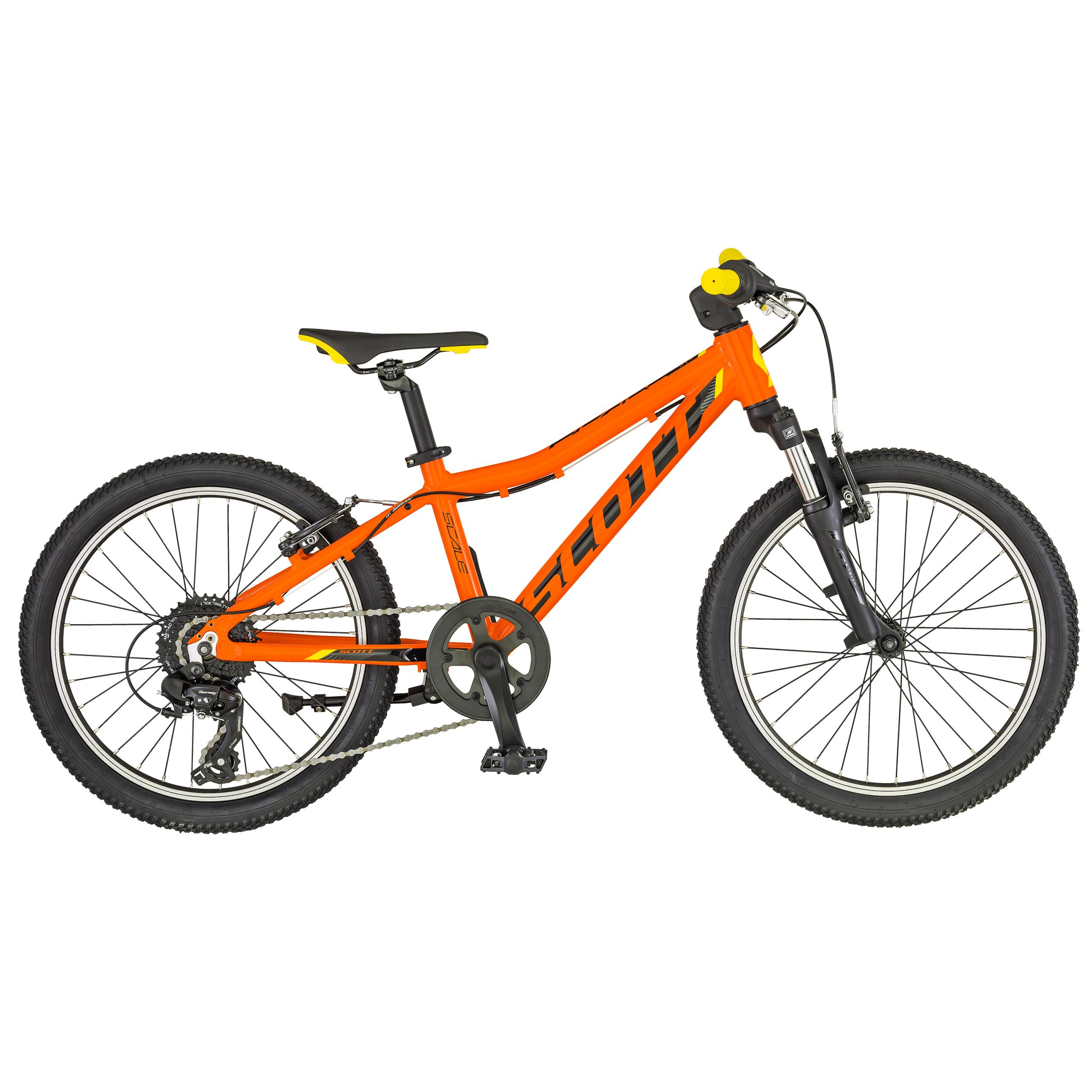 Scott Scale 20 Orange / Schwarz 2019 U