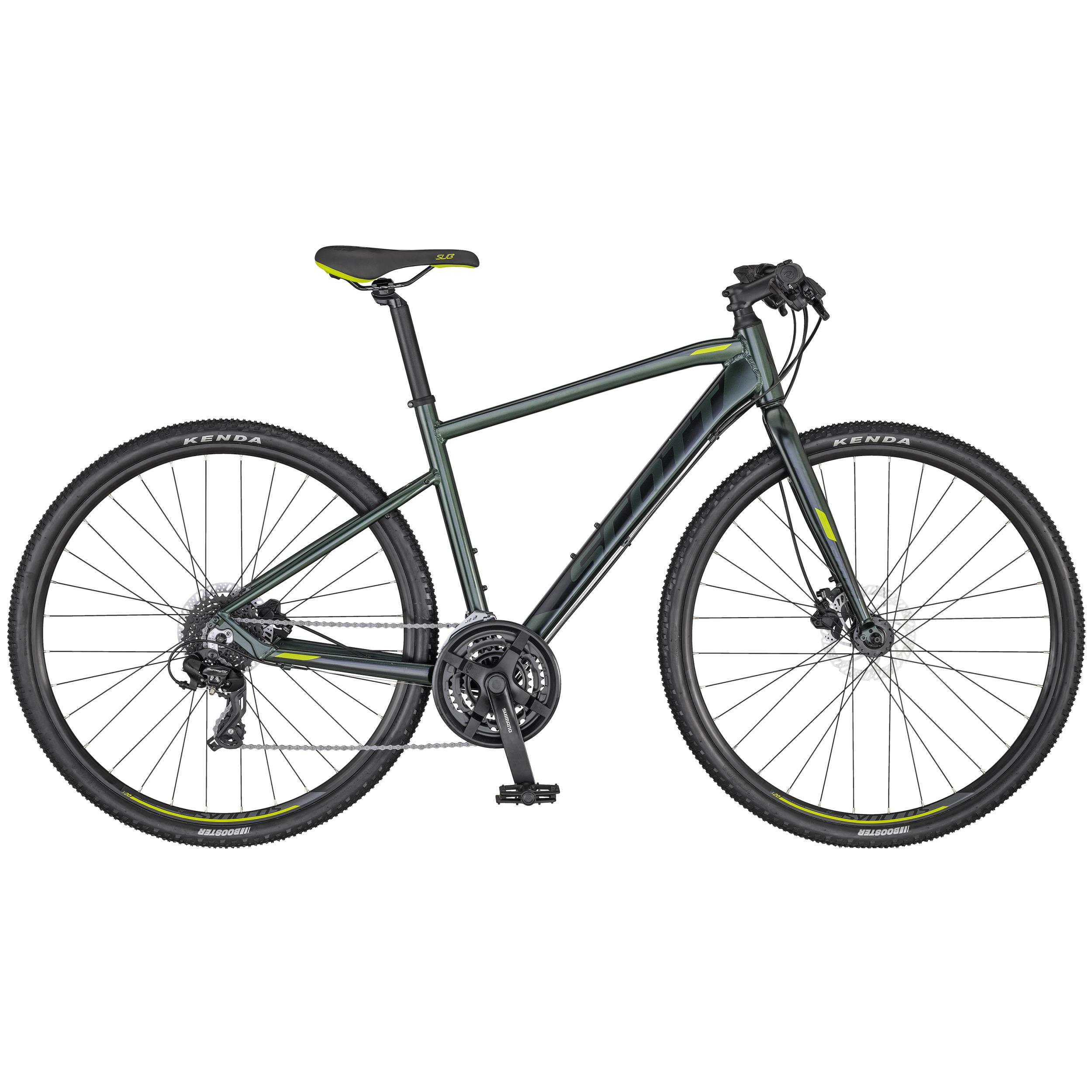 Scott Sub Cross 50 Men dark green / black / envy green 2020 - 28 -