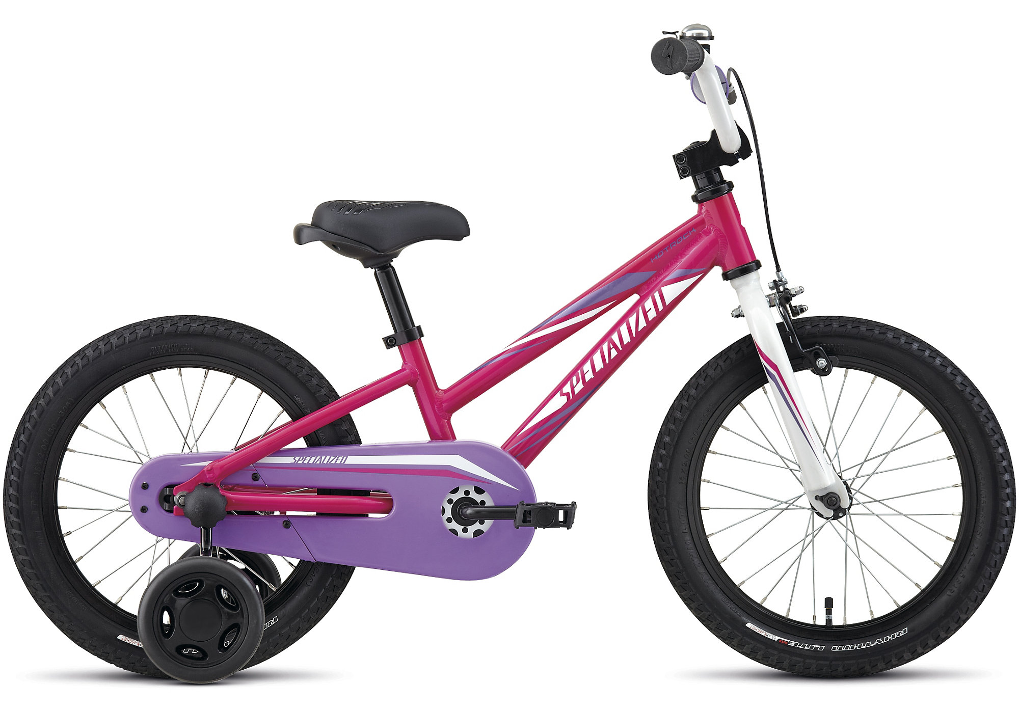 Specialized Hotrock 16 Coaster Girls Hot Pink/Purple/Sparkle White 2017