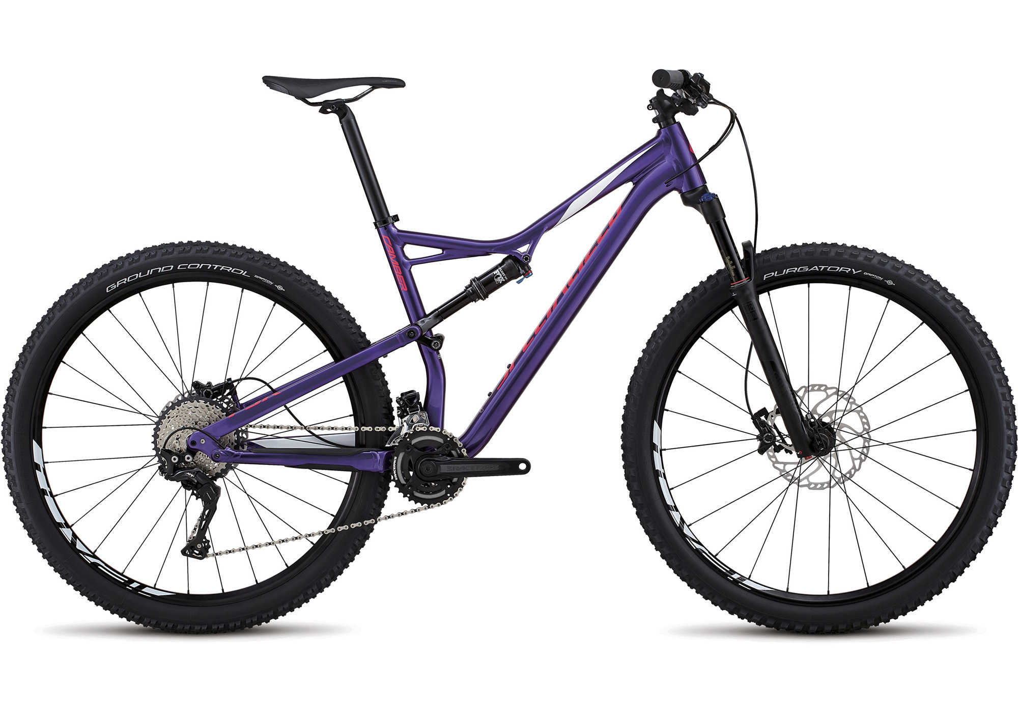 Specialized Men's Camber Comp 29 Heritage Gloss Purple/White/Acid Pink 2018