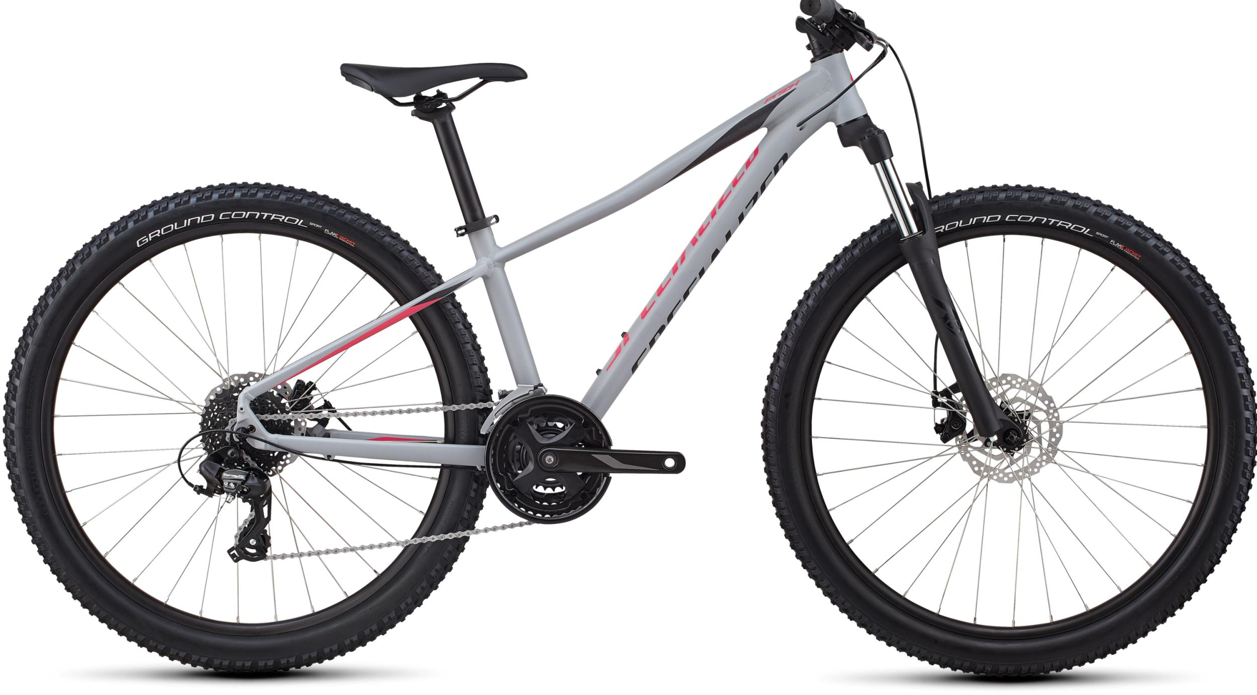 Specialized Women's Pitch Satin Gloss Cool Grey/Acid Pink/Black/Reflective 2019 - 27.5 -  S