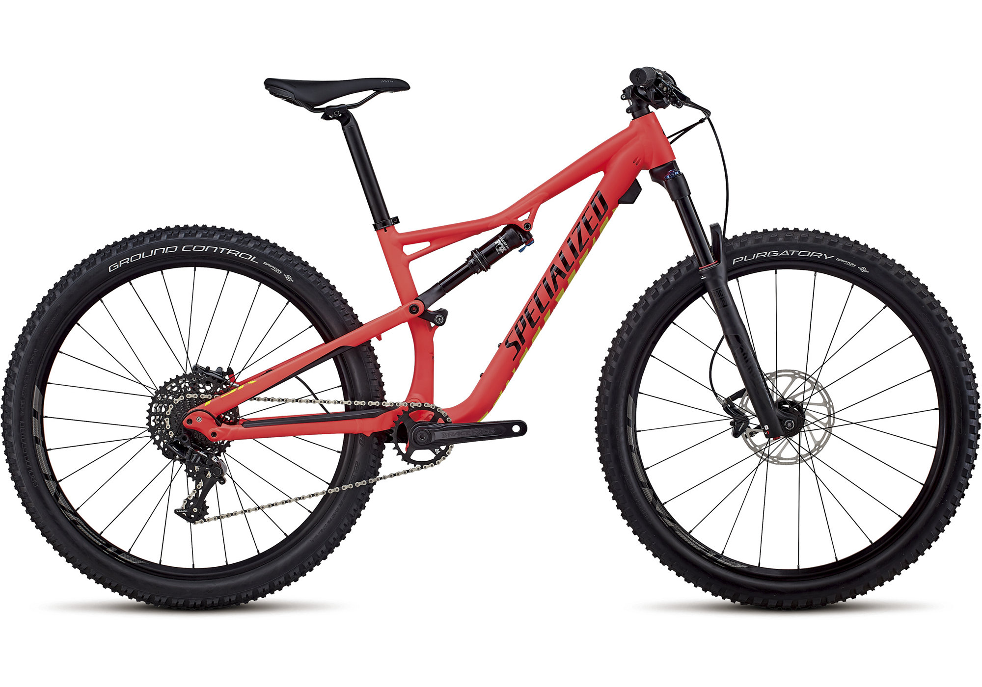 Specialized Women's Camber Comp 27.5 Satin Gloss Acid Red/Limon/Black 2018