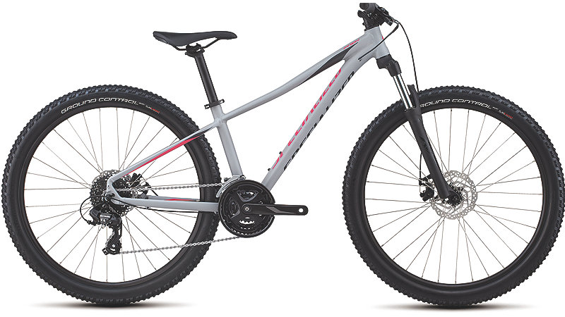 Specialized Women's Pitch 27.5 Satin Gloss Cool Gray/Acid Pink/Black Reflective 2018 S