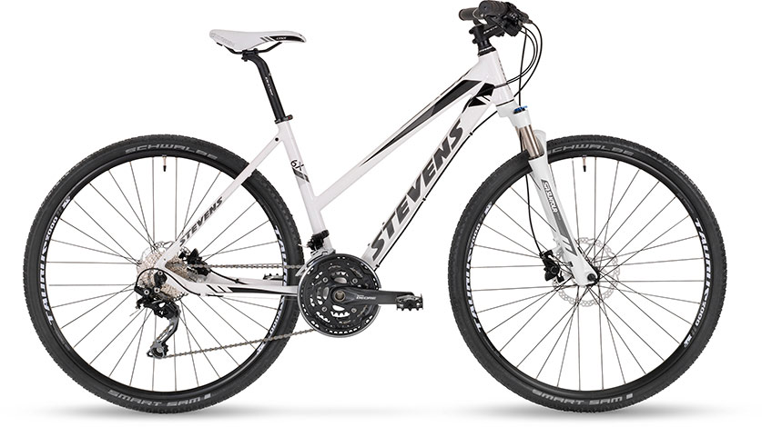 Stevens 6X SX Disc Lady White 2016