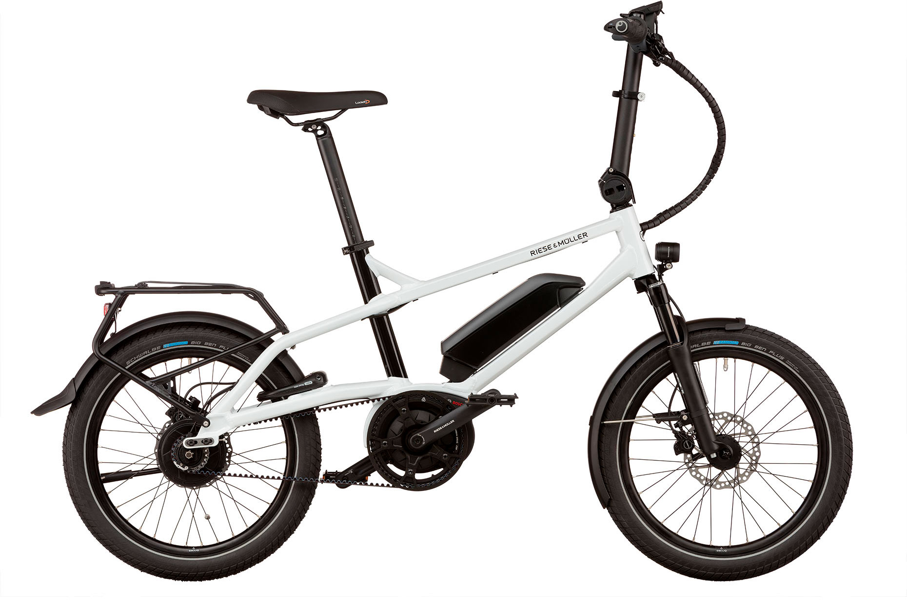 Riese und Müller Tinker Vario - incl. Thudbuster, RX Chip