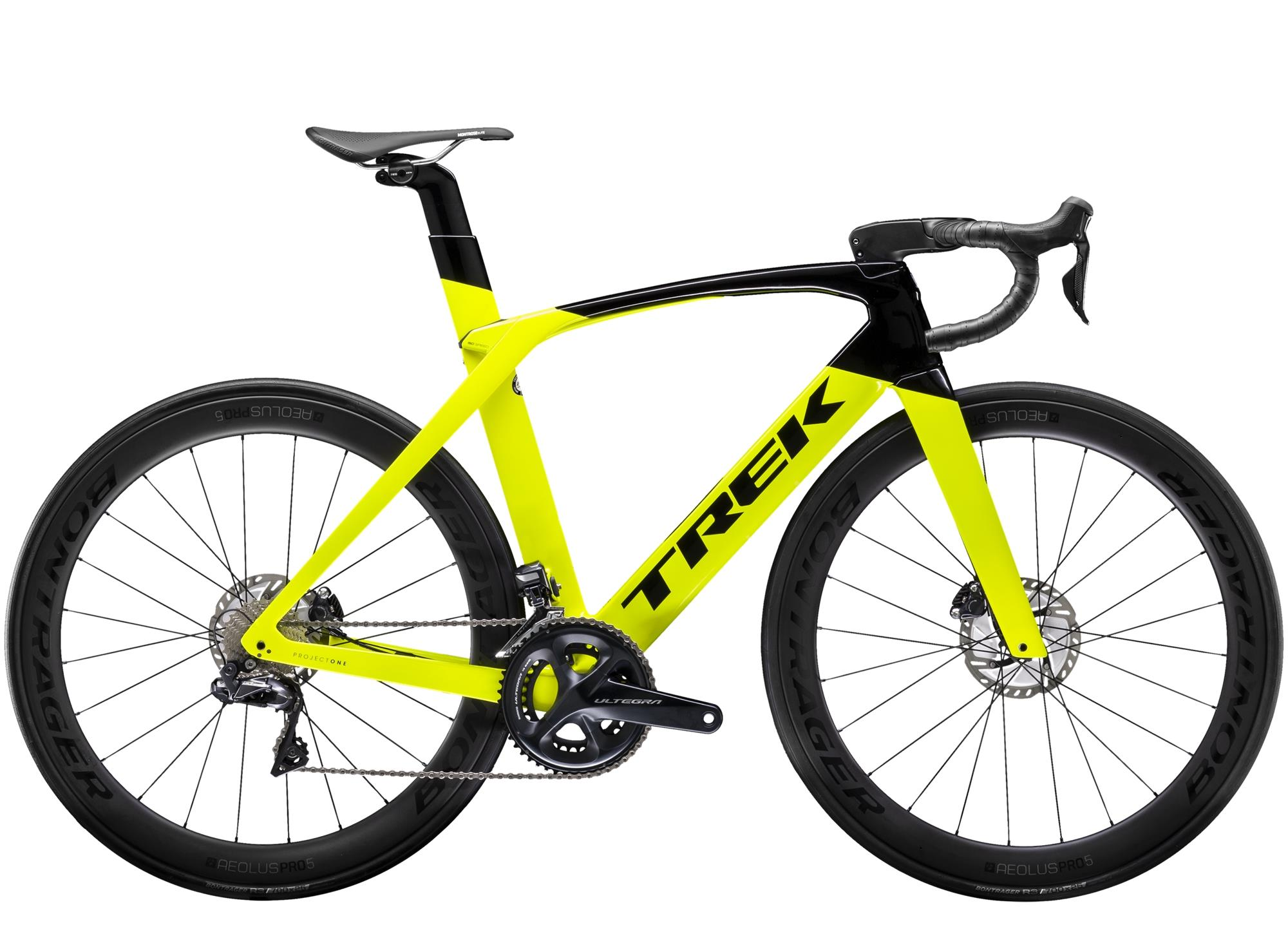 Trek MADONE SLR 7 DISC - 28 -  Radioactive Yellow/Trek Black 2019