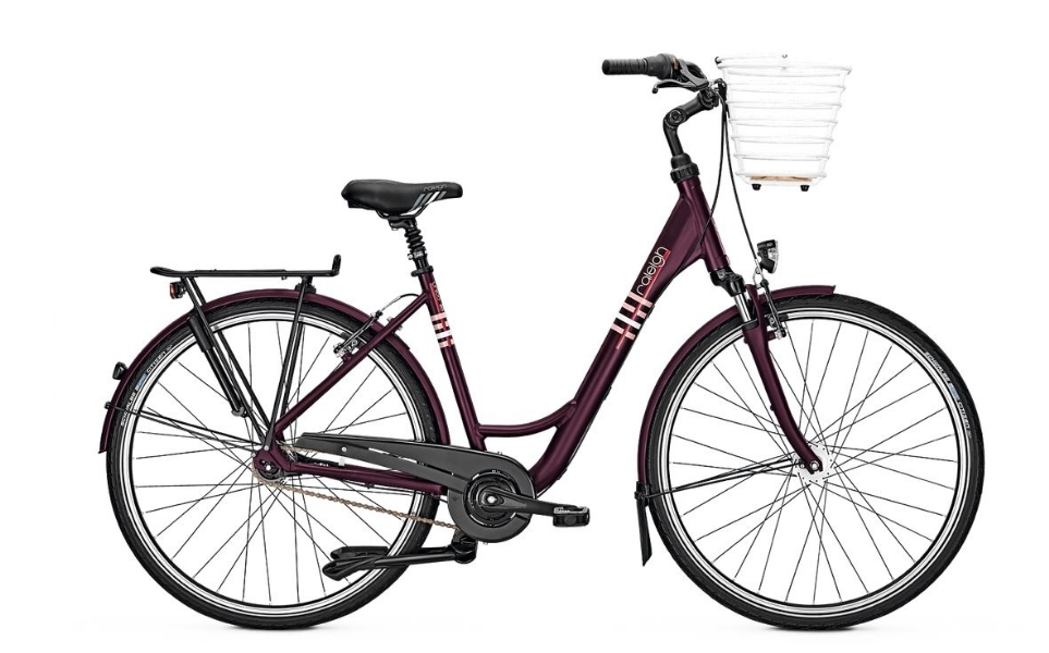 raleigh unico life citybike mit korb 7 gang bike. Black Bedroom Furniture Sets. Home Design Ideas